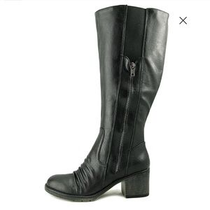 BareTraps Dallia Wide Calf Zipper Knee High Boots